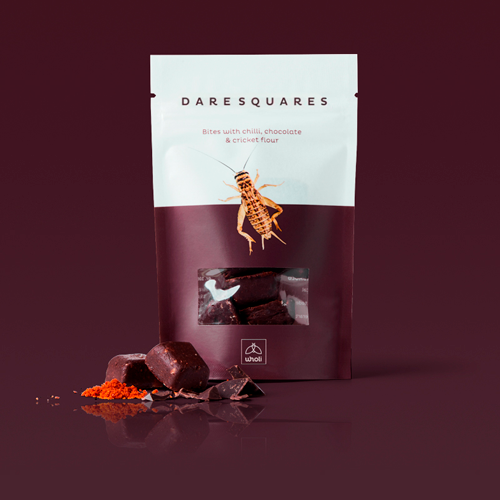 Dare Squares Chokolade med Chili og spiselige fårekyllinger