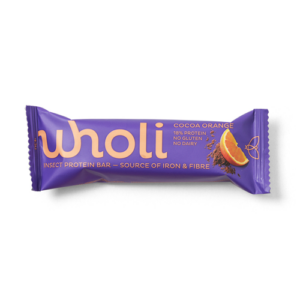 Wholi Kakao appelsin insekt proteinbar