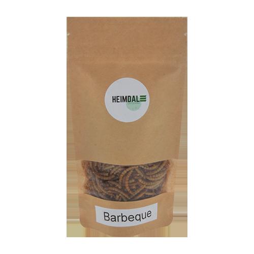 Ristede Melorme Barbeque 25g | Spiselige insekter